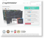 SynthMaster: Award winning 'Swiss Army Knife' VST/AU/AAX/iOS software synthesizer!