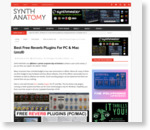 11 Free Reverb Plugins For PC & Mac You Should Not Miss ? Synth Anatomy