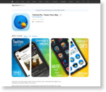 iTunes の App Store で配信中の iPhone、iPod touch、iPad 用 Twitterrific 5 for Twitter