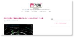 2013年に開いて直感的に素敵だな、すげーとおもったWebサイト大賞*ホームページを作る人のネタ帳
