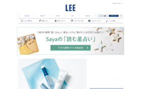 LEE webの媒体資料