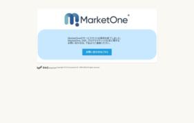 MarketOne(マーケットワン)の媒体資料