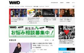 WWD ジャパンの媒体資料