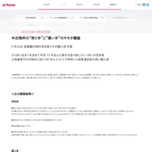 """中古物件の""""売り手""""と""""買い手""""のキモチ調査"""