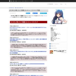 2014年上半期 ニコニコニュース コメント数ランキング