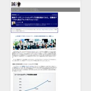 最新データで、ソーシャルメディア市場を眺めてみた。 -消費者データから見るブランドポジション(12)-