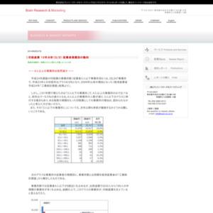 印刷産業10年分析3/3 従業者規模別