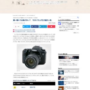 中古デジタルカメラ販売ランキング(2014年10月30日~11月5日)