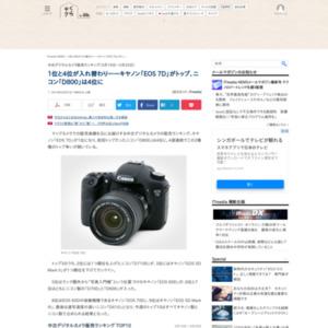 中古デジタルカメラ販売ランキング(2015年3月19日~3月25日)