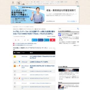中古カメラレンズ販売ランキング マイクロフォーサーズ編(2015年3月19日~3月25日)