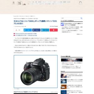 中古デジタルカメラ販売ランキング(2015年4月6日~4月15日)