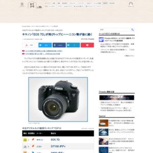 中古デジタルカメラ販売ランキング(2015年4月16日~4月22日)