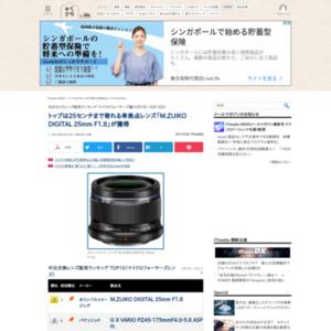 中古カメラレンズ販売ランキング マイクロフォーサーズ編(2015年5月7日~5月13日)