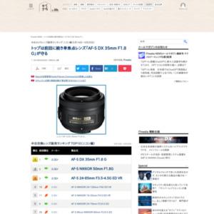 中古カメラレンズ販売ランキング ニコン編(2015年5月14日~5月20日)