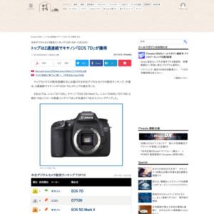 中古デジタルカメラ販売ランキング(2015年5月14日~5月20日)