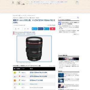 中古カメラレンズ販売ランキング キヤノン編(2015年7月2日~7月8日)