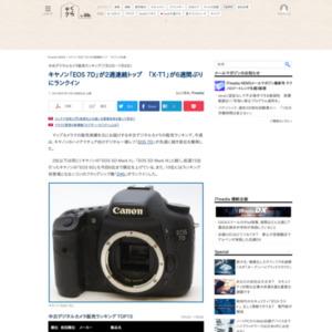 中古デジタルカメラ販売ランキング(2015年7月2日~7月8日)