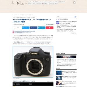 中古デジタルカメラ販売ランキング(2015年7月9日~7月15日)