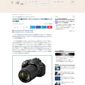 デジタルカメラ総合販売ランキング(2015年8月10日~8月16日)