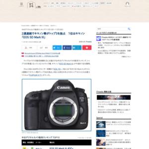 中古デジタルカメラ販売ランキング(2015年11月12日~11月18日)