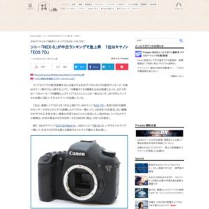 中古デジタルカメラ販売ランキング(2016年2月4日~2月10日)