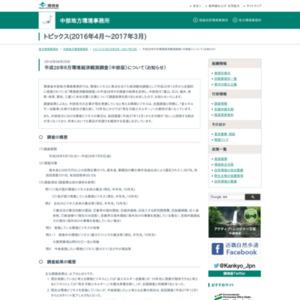 平成28年6月環境経済観測調査(中部版)