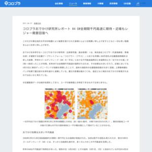コロプラおでかけ研究所レポート #4 GW全期間千円高速に期待・近場もレジャー需要回復へ