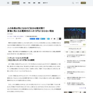 暑さ対策における意識調査2012