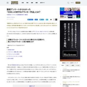 読者アンケートからわかった「日本人の好きなドラッカー作品」とは?