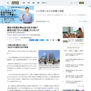東京23区「びっくり格差」ランキング