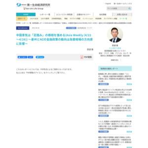 中国景気は「足踏み」の様相を強める(Asia Weekly (4/22~4/26)) ~豪州とNZの金融政策の動向は為替相場の方向感に影響~