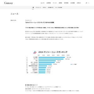 2014 グノシーニュースランキング
