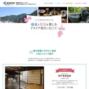 関西圏の温泉に関する調査