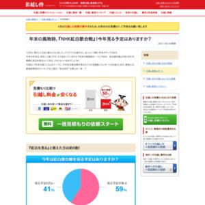 年末の風物詩、『NHK紅白歌合戦』! 今年見る予定はありますか?