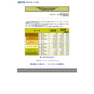 わが国におけるサーバ・ワークステーションの平成24年度第3四半期出荷実績(平成24年10月-12月)