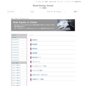 中国におけるウェブサイト価値、日本企業トップは「ソニー」