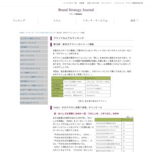 第28回:新旧タグラインのイメージ調査(2009)