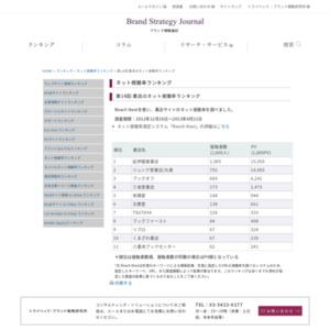 第14回:書店のネット視聴率ランキング(2013)