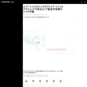 インタラクティブ・インフォグラフィックで見るロシア航空宇宙軍のシリア作戦