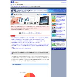 iPad購入状況調査