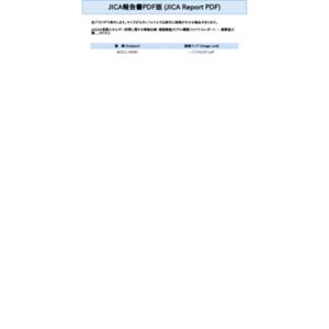ASEAN長期エネルギー政策に関する情報収集・確認調査(モデル構築)ファイナルレポート