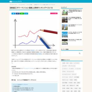 新宿区タワーマンション価格上昇率ベスト10