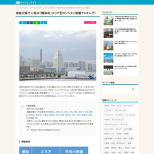 神奈川県で人気の「横浜市」エリア別マンション相場ランキング