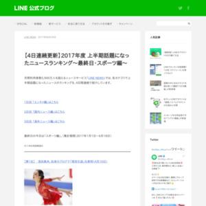 2017年度 上半期話題になったニュースランキング~最終日・スポーツ編~