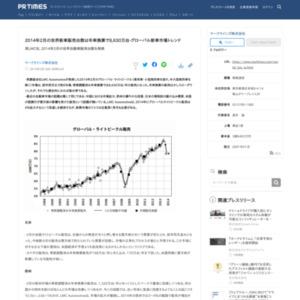 2014年2月の世界自動車販売台数