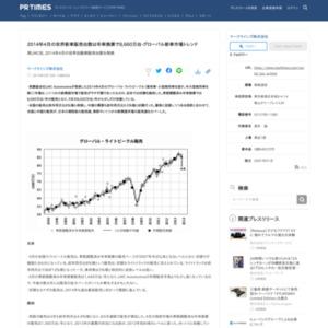 2014年4月の世界新車販売台数