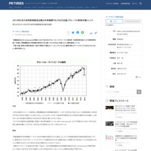 2014年6月の世界新車販売台数