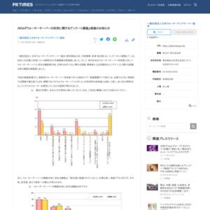 ウォーターサーバーの利用に関するアンケート調査