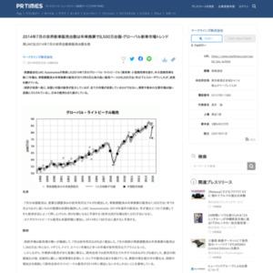 2014年7月の世界新車販売台数