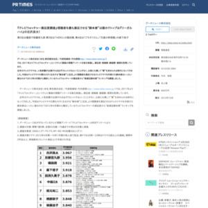 """『テレビウォッチャー満足度調査』視聴者を最も満足させる""""脚本家""""は誰か?"""